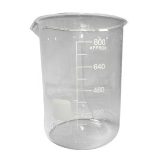 Beaker low form glass 1000ml economy