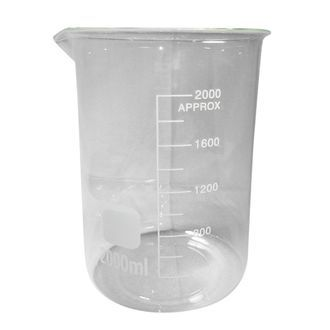 Beaker low form glass 2000ml economy