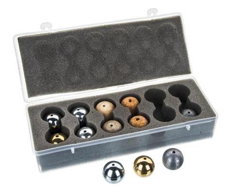 Drilled ball set 12 balls 25mm p/case