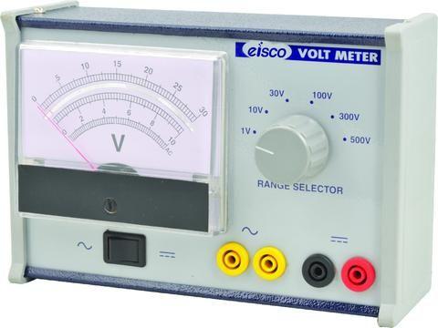 Voltmeter 0-1-10-30-100-300-500 volt