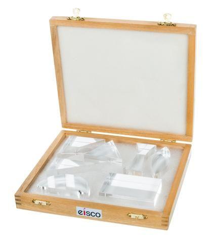Acrylic blocks in wooden case 25mm