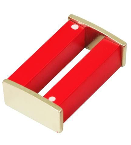 Magnet bar ALNICO w/ keepers 75x15x10mm