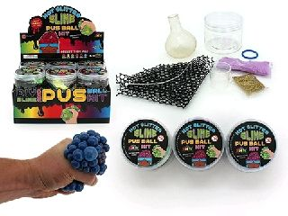 DIY Slime and Pus ball kit