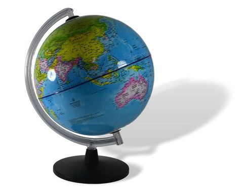 Globe 30cm premium mounted on stand