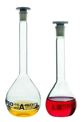 Flask volumetric class A glass 500ml