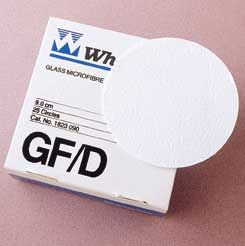 Glass Fibre Paper No.GF/D 125mm 2.7um