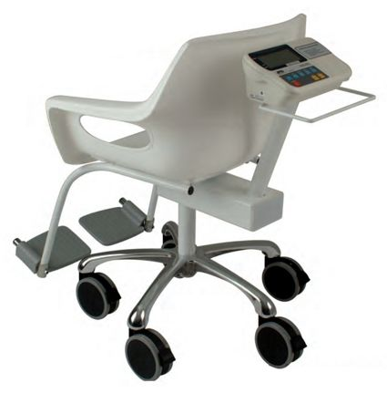 Chair scale 150kg x 50g battery operated