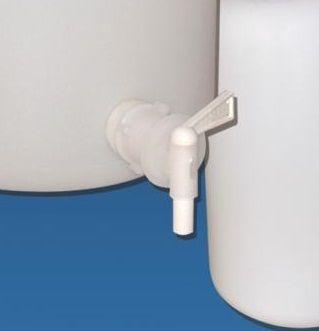 Tap spigot for Kartell aspirator bottles