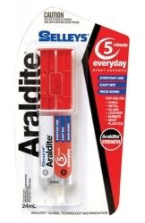 Glue araldite 24ml Selleys