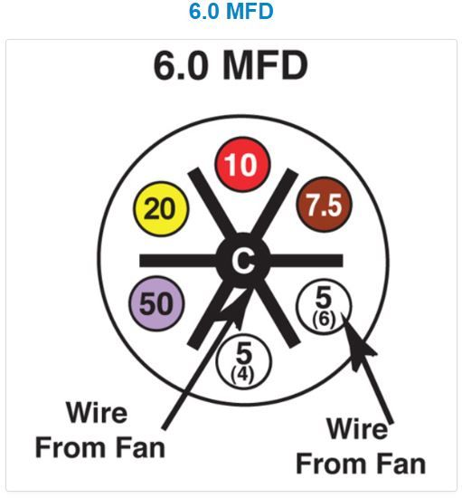 UNIVERSAL CAP200X 5µF TO 97.5µF 440VAC | Turbo 200 Capacitor Wiring Diagram |  | Stareast International
