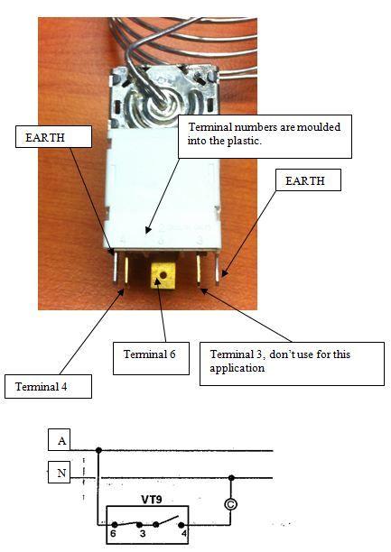 Ranco Vt9 T Stat Kit Two Door K59 L1102
