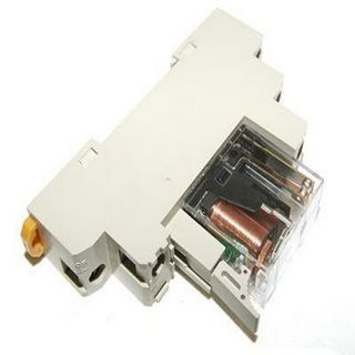 DIN RAIL PLUG-IN RELAY+BASE 110V COIL