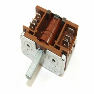 EGO ROTARY SWITCH 23x6mm Dshaft 16A 240v