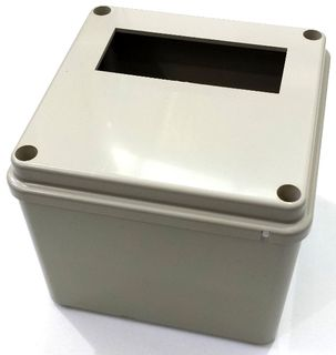 CONTROL MOUNTING BOX LARGER TYPE PRECUT