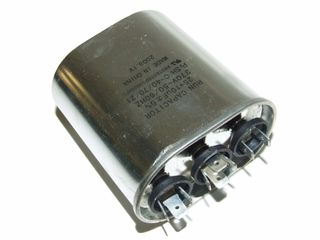 OVAL RUN CAPACTOR 25µF+10µF 370V