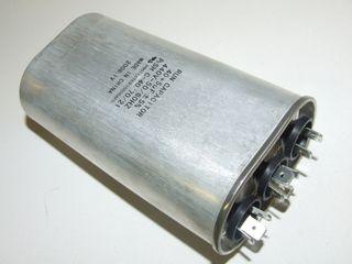 OVAL RUN CAPACTOR 40µF+5µF 440V