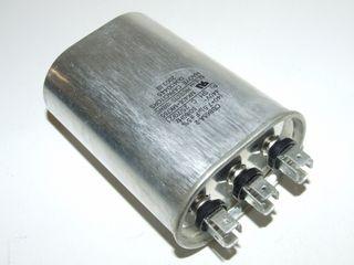 OVAL RUN CAPACTOR 40µF+7.5µF 440V