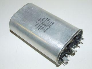 OVAL RUN CAPACTOR 45µF+5µF 440V
