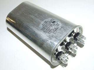OVAL RUN CAPACTOR 45µF+7.5µF 440V