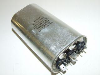 OVAL RUN CAPACTOR 60µF+5µF 440V