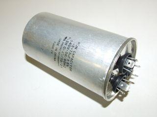 ROUND RUN CAPACTOR 45µF+5µF 440V