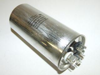 ROUND RUN CAPACTOR 80µF+7.5µF 440V