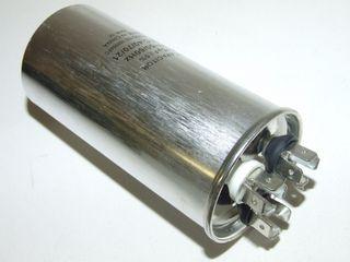 ROUND RUN CAPACTOR 35µF+7.5µF 440V
