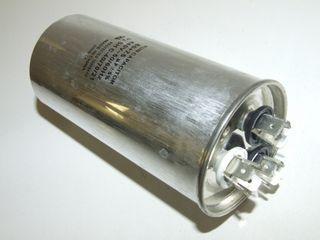 ROUND RUN CAPACTOR 80µF+10µF 440V