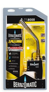 TORCH TS8000 BERNZOMATIC WITH MAPP GAS