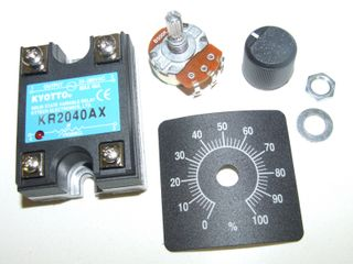 SOLID STATE SPEED CONTROL RELAY 40A 250V