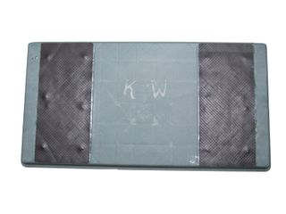 PLASTIC SLAB WITH RUBBER SURFACE POLY
