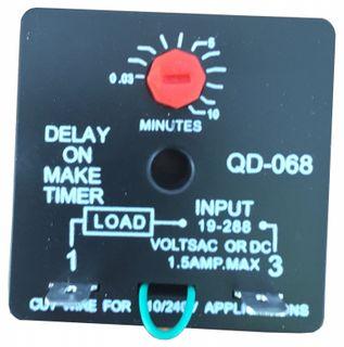 DELAY ON MAKE TIMER QM-68 0.03~10MINS