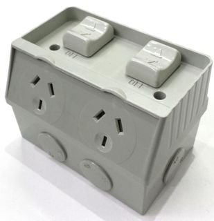 WEATHER PROOF DGPO 10A/250V IP56