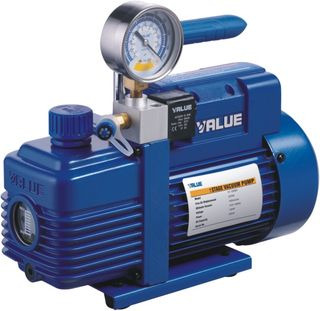 VALUE VAC PUMP 3/4HP 5CFM 2STAGE+SOLENOI