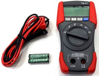 TENMARS - TM-81 DIGITAL MULTIMETER