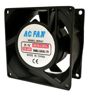 AC AXIAL FAN 80x80x38MM 16.25/13.2W 240V