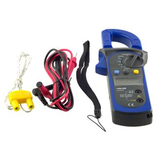 DIGITAL CLAMP MULTIMETER W/ TEMP READER