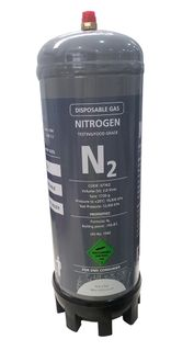DISPOSABLE NITROGEN CYLINDER 2.2L