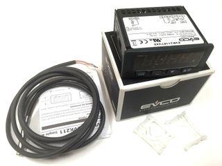EVCO MED TEMP CONTROL DEFROST ALARM 230V