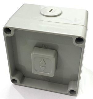 WEATHER PROOF 1 GANG SWITCH 230V 10A