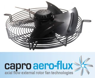 250MM 1 PH AXIAL FAN SUCTION 1390RPM 4P
