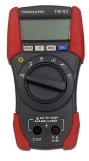 TENMARS - TM-82 DIGITAL MULTIMETER