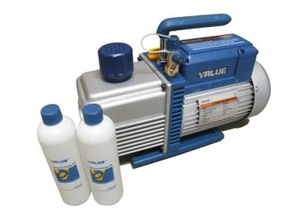 VALUE VAC PUMP 1HP 10CFM|283L/MIN 2STAGE