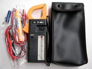 ANALOG CLAMP METER WITH LEADS