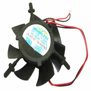 FAN KIT FdC SUSPENDED 12V F&P SMALL .25A