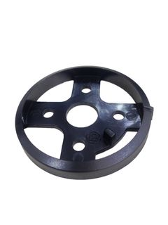 BLACK PLASTIC SURFACE PLATE FOR KNOBS