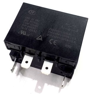 BACKUP RELAY 24V AC 30A 1.5HP 120VAC
