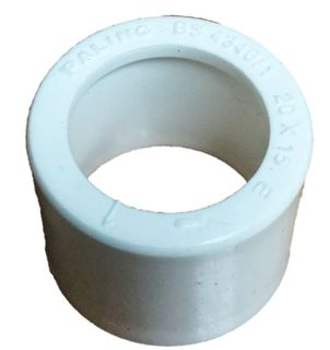 PVC REDUCER SOCKET 20-15MM
