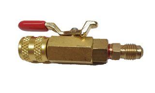 R410A ADAPTOR BALL VALVE M 1/4 | F 1/4
