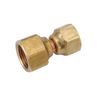 BRASS SWIVEL CONNECTOR 1/4